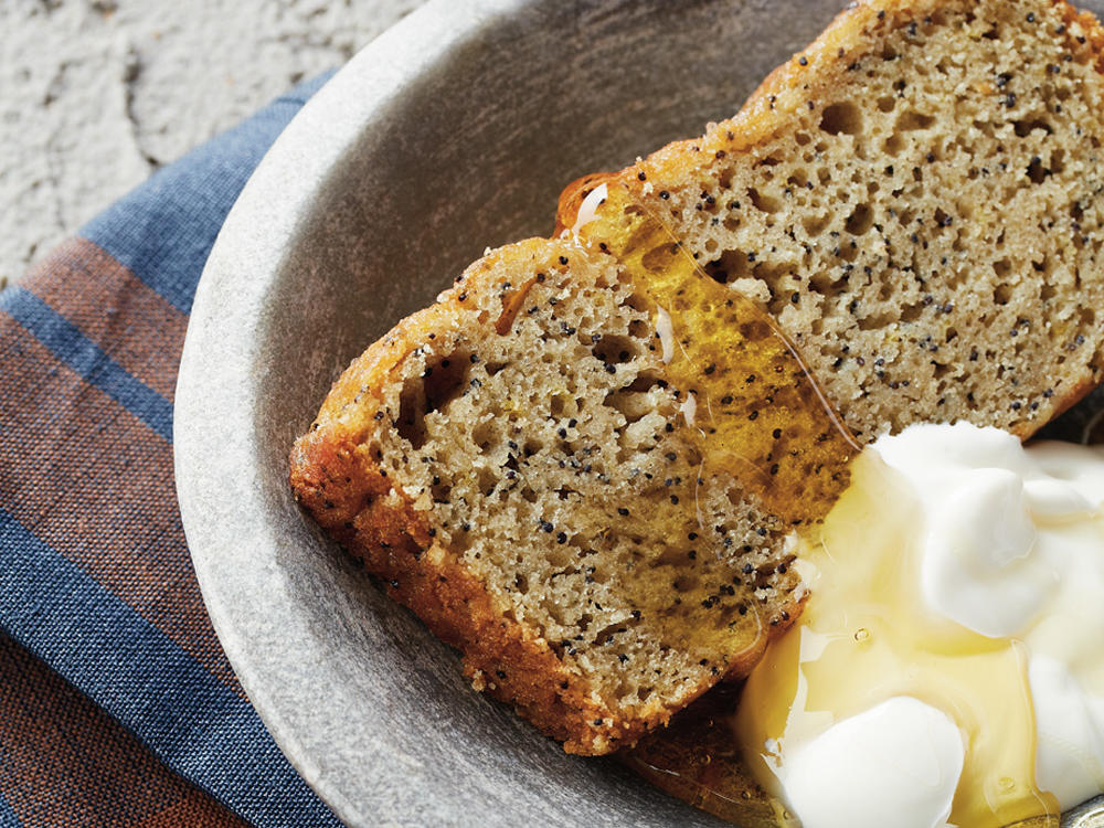Lemon-Poppy Seed Bread