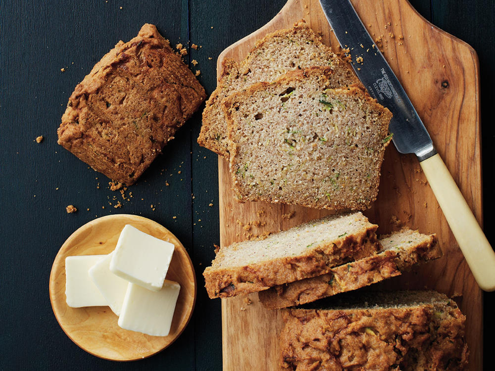 Enjoy a satisfying way to eat more vegetables by adding ripe zucchini to your homemade bread. The mild flavor means you can easily sneak it in without the kids ever knowing.