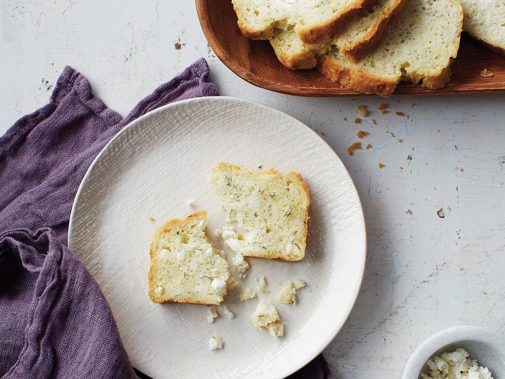 Feta and Dill Quick Bread