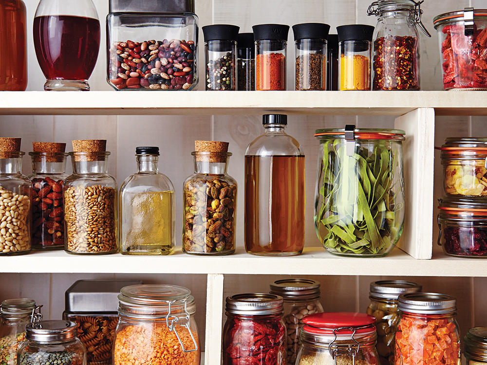 7. Clean out your pantry.