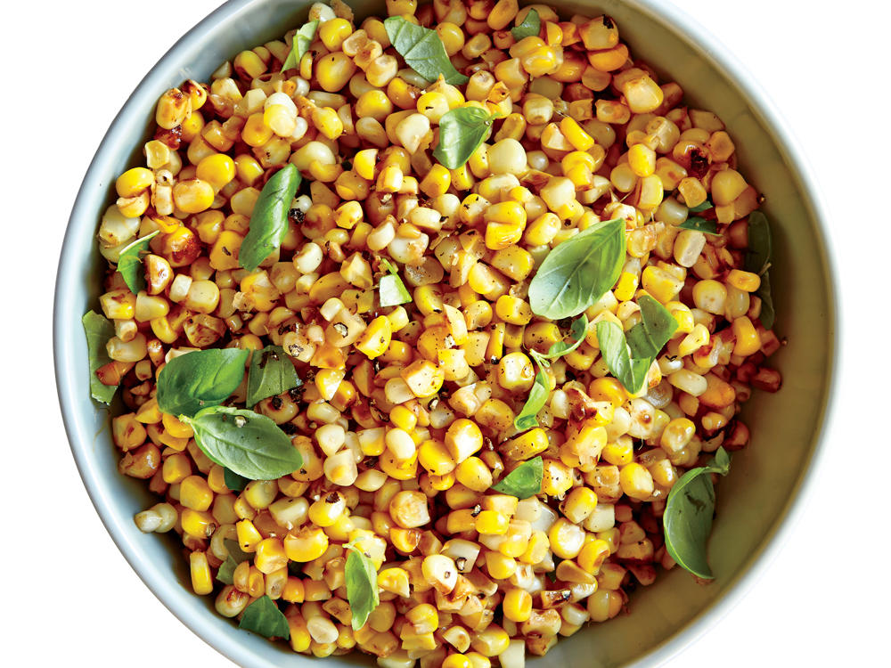 fresh summer corn sauté