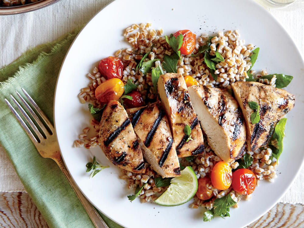 50 Grilled Chicken Recipes Cooking Light