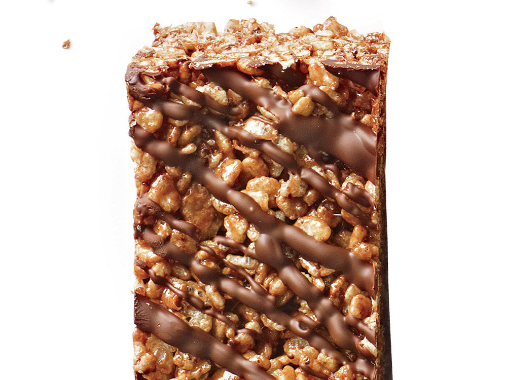 Double Chocolate Chewy Crispy Bars Cooking Light Diet