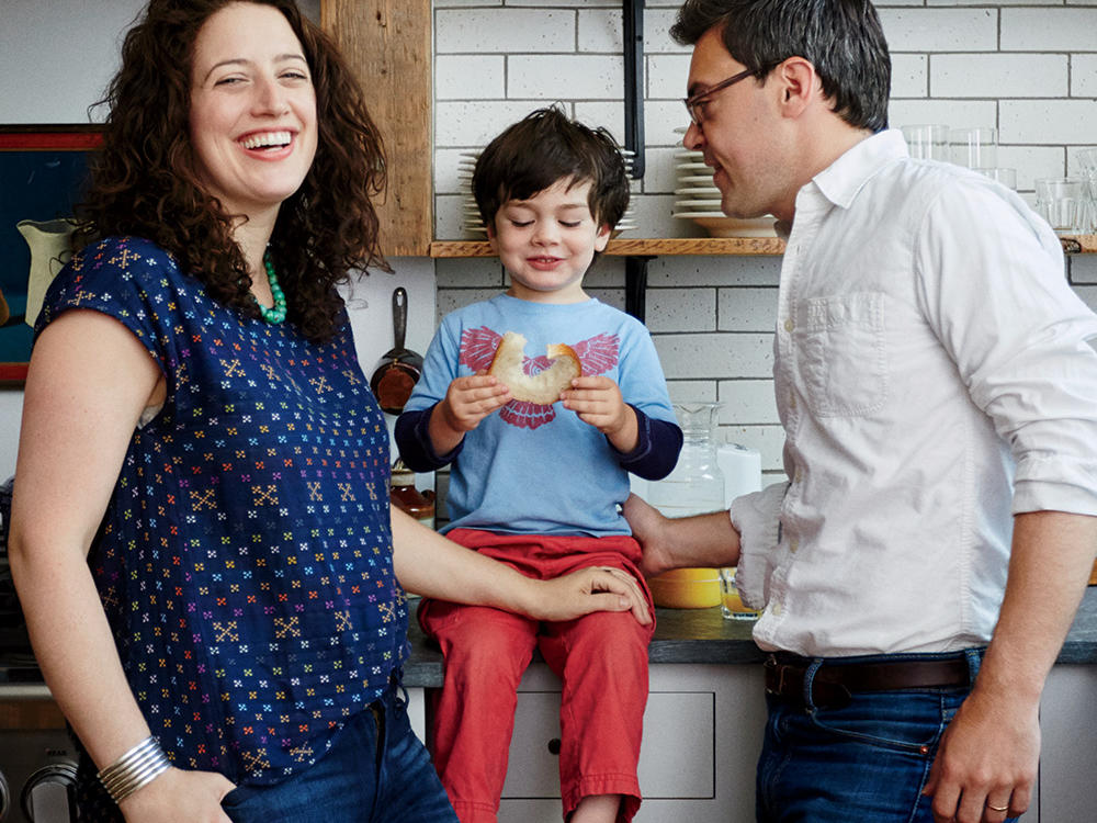 Inside a City-Chic Kitchen (That's Family Friendly!)