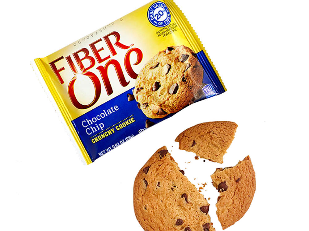 Fiber One Chocolate Chip Crunchy Cookie