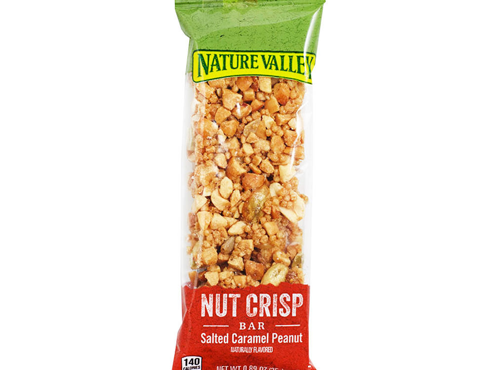 Nature Valley Nut Crisp Bar in Salted Caramel Peanut