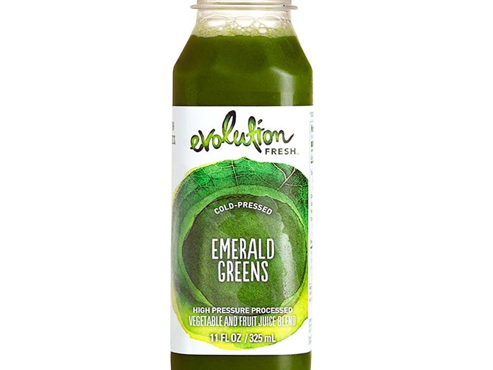 Evolution Fresh Emerald Greens Cold-Pressed Juice