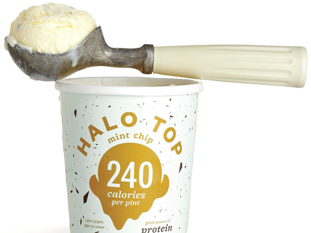 Halo Top Creamery Mint Chip Ice Cream