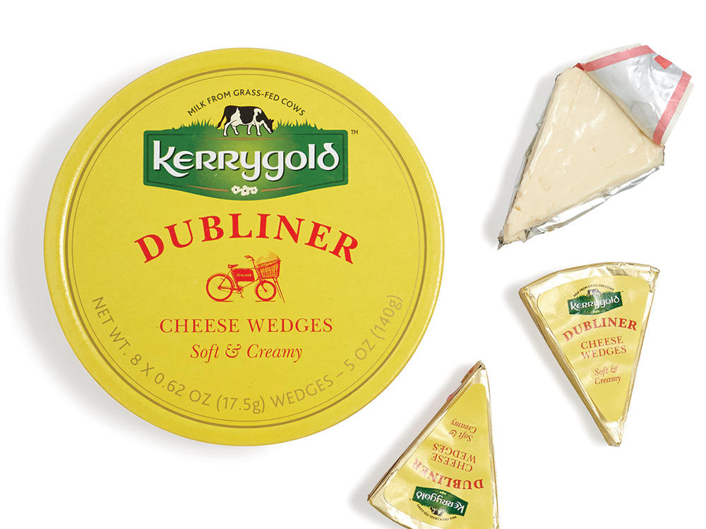 Kerrygold Soft & Creamy Dubliner Cheese Wedges