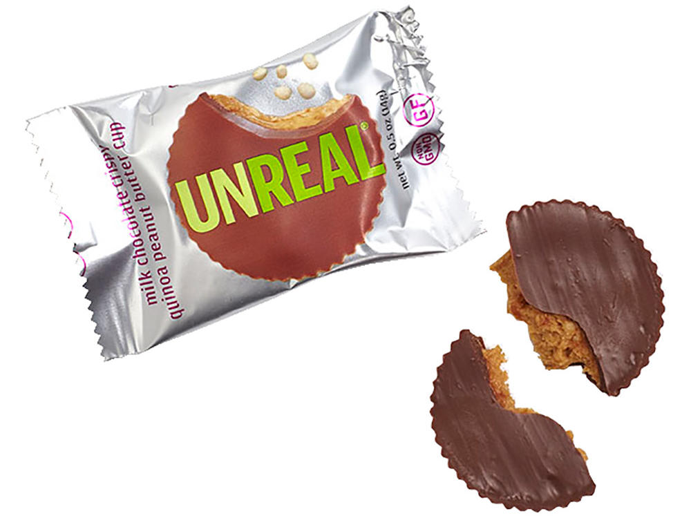 Unreal Milk Chocolate Crispy Quinoa Peanut Butter Cups