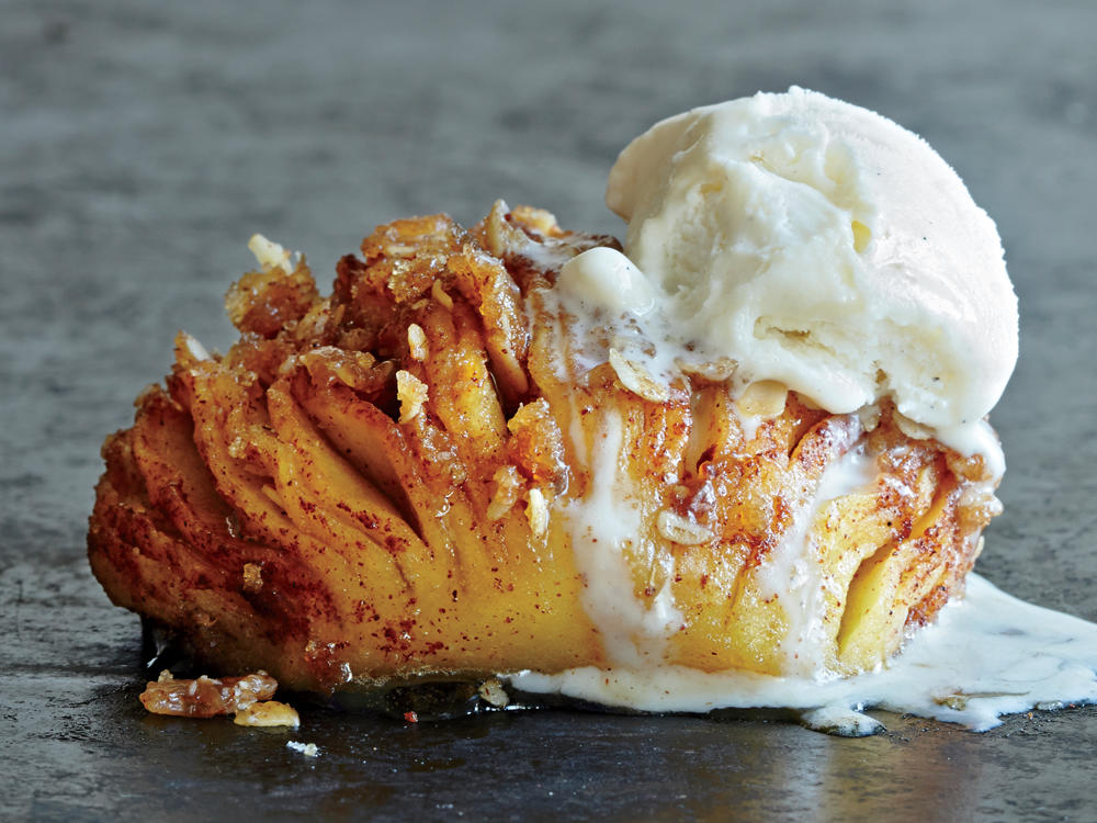 Awesome Hasselback Apples Photo
