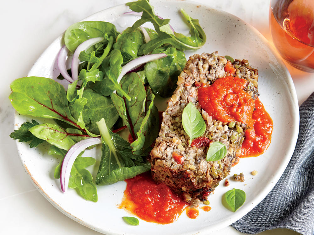 Recipe Makeover: Veggie-Packed Meat Loaf