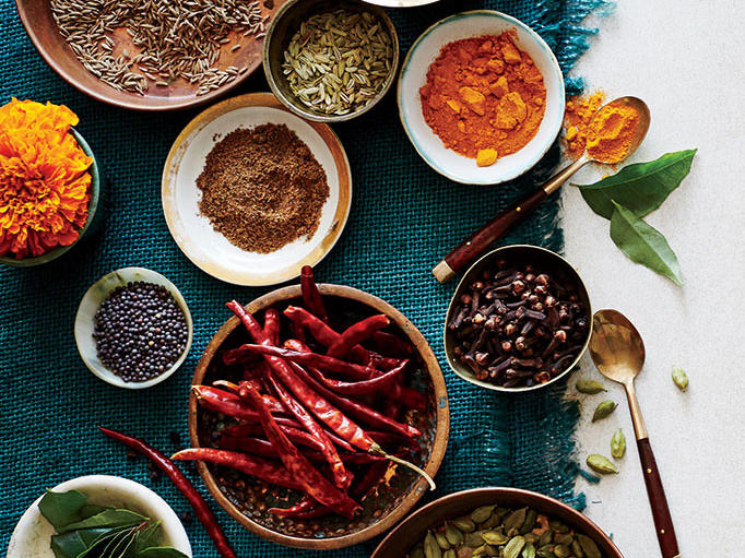 Indian Spices and Pantry Essentials