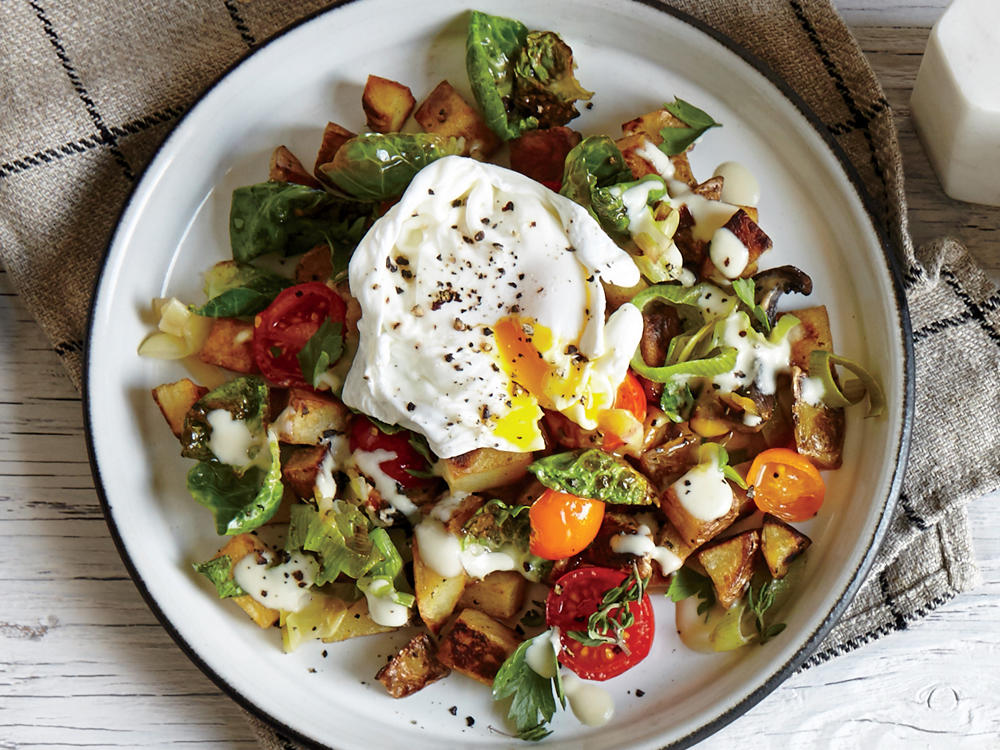 This veggie-filled hash will make a quick, delicious one-dish meal at any time of the day—morning, noon and night!