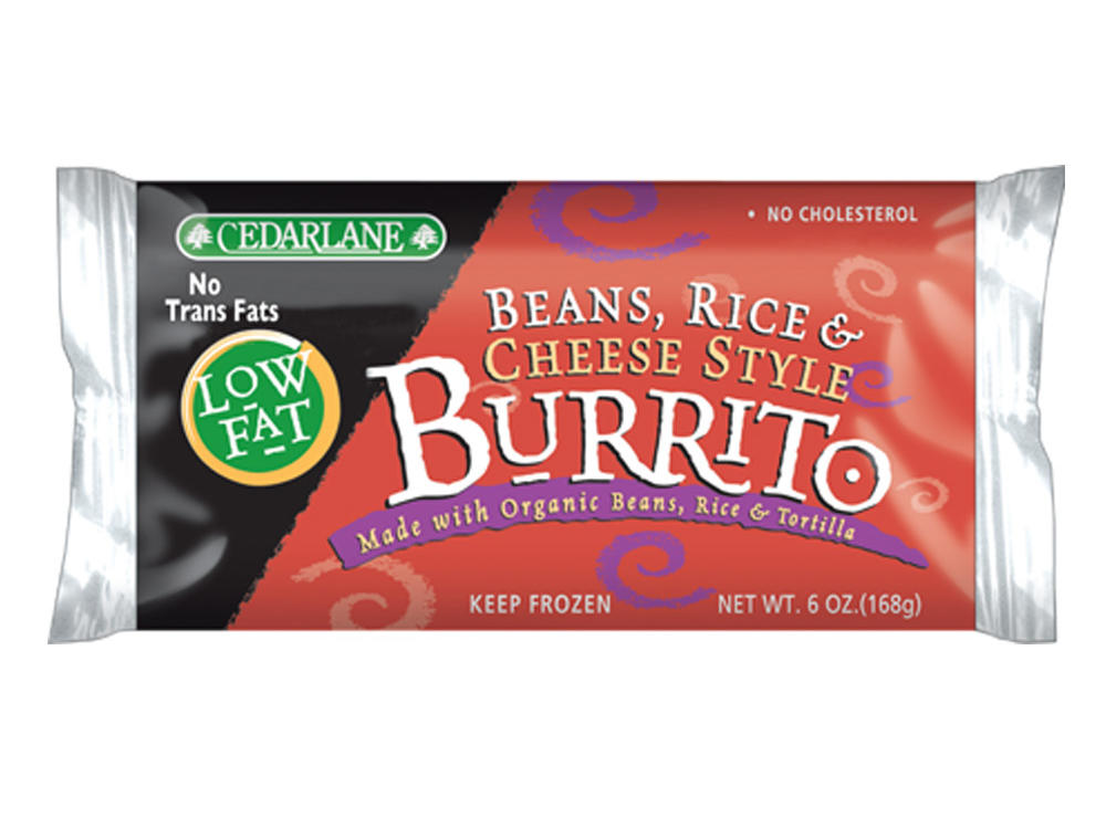 CedarLane Beans, Rice, and Cheese Style Burrito