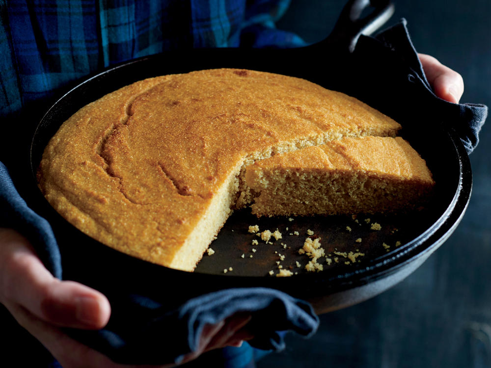 Whole-Grain Corn Bread