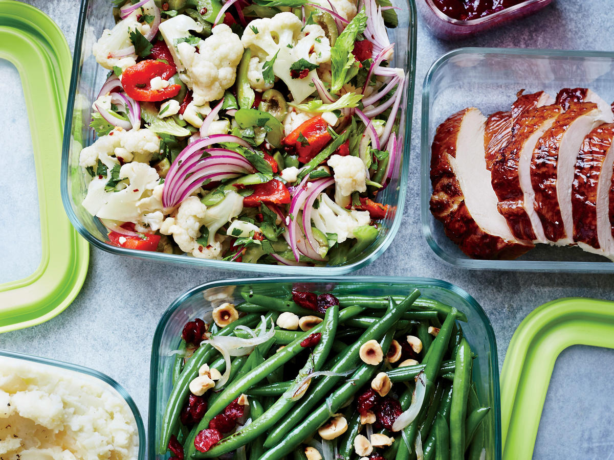 17. Turn excess holiday or party foods into meals.