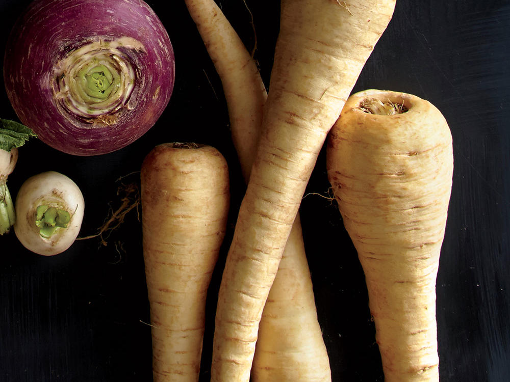 Root Vegetable Parsnips
