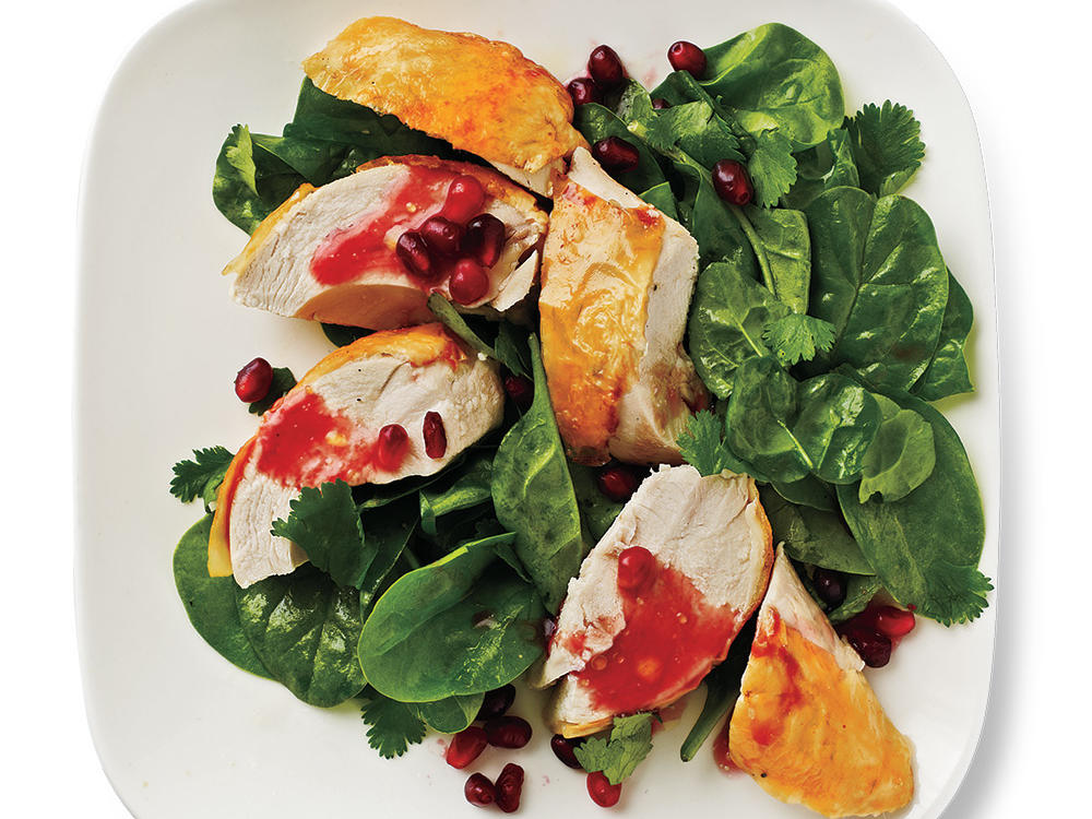 Moroccan Roasted Pomegranate Chicken