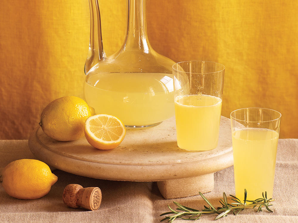 Sparkling Meyer Lemon Cocktail