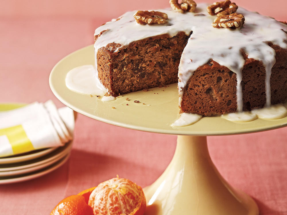 Clementine-Date Cake
