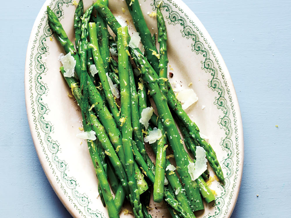 Spring asparagus shines with just a few flavor enhancements in this quick and easy recipe.