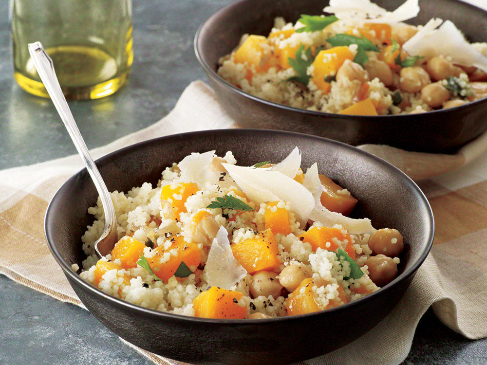 Couscous with Winter Vegetables