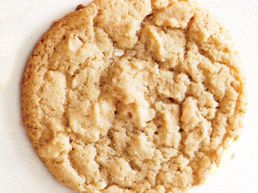 Coconut, Lime, and Macadamia Cookies Recipe