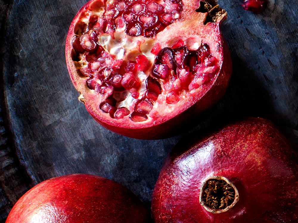 Juicing Pomegranate Seeds