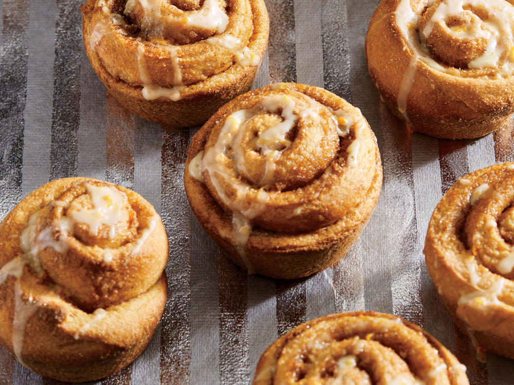 Cinnamon-Orange Rolls