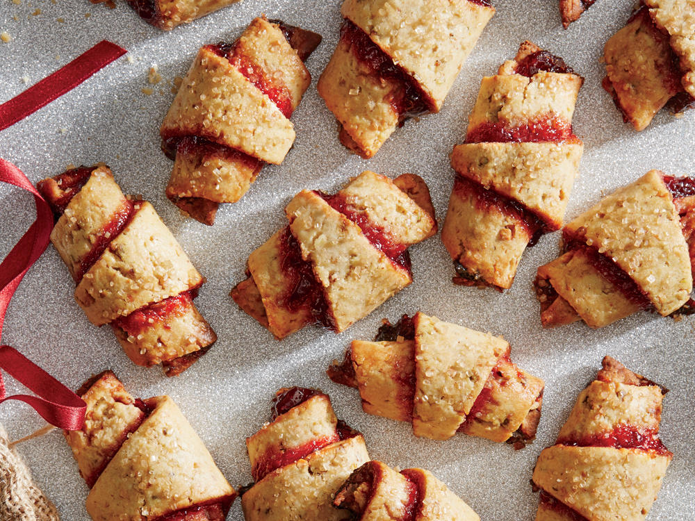Cherry and Pistachio Rugelach