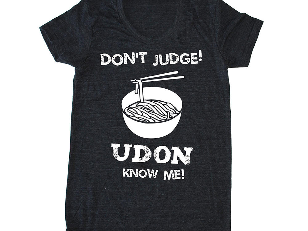 Bad Pickle Tees Udon Know Me! T-Shirt