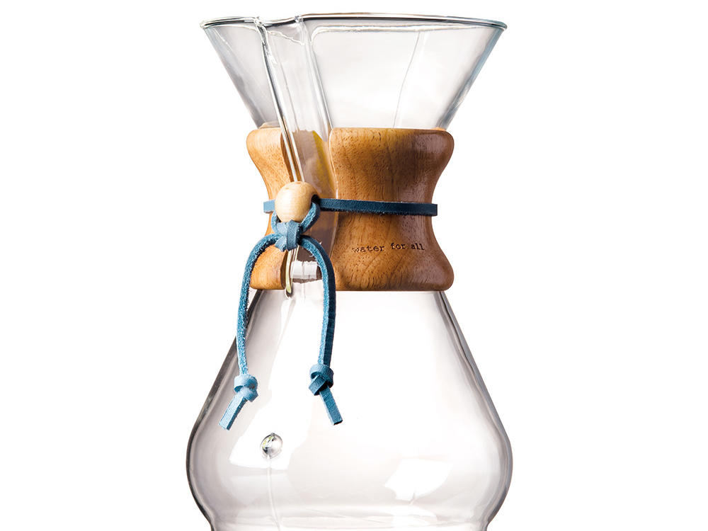 TOMS CHEMEX 8-cup Glass Coffeemaker