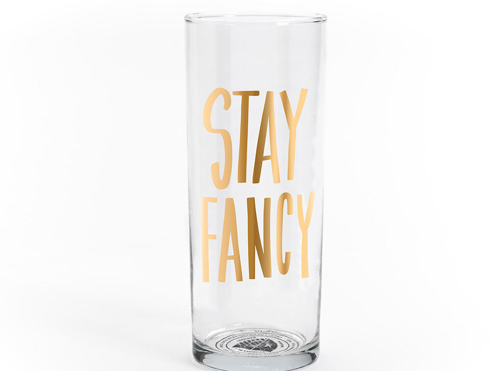 Easy, Tiger Stay Fancy Cocktail Glasses