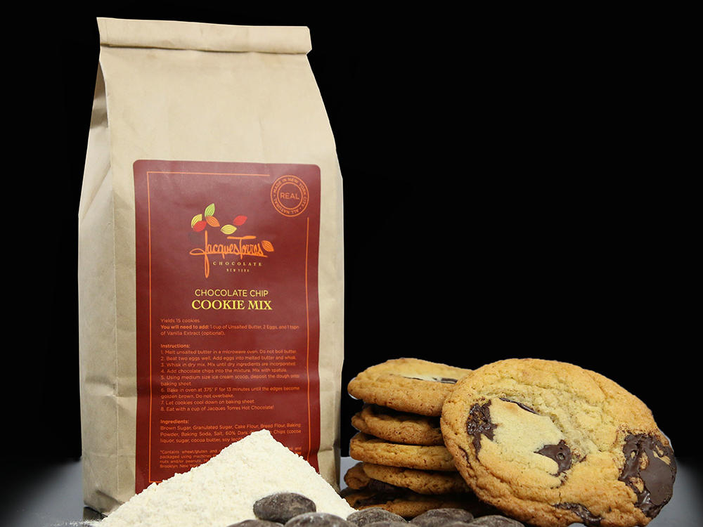 Jacques Torres Chocolate Chip Cookie Mix