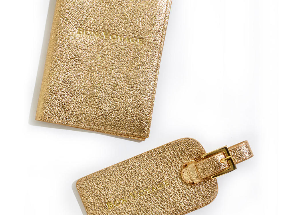 One King's Lane Luggage Tag and Passport Cover