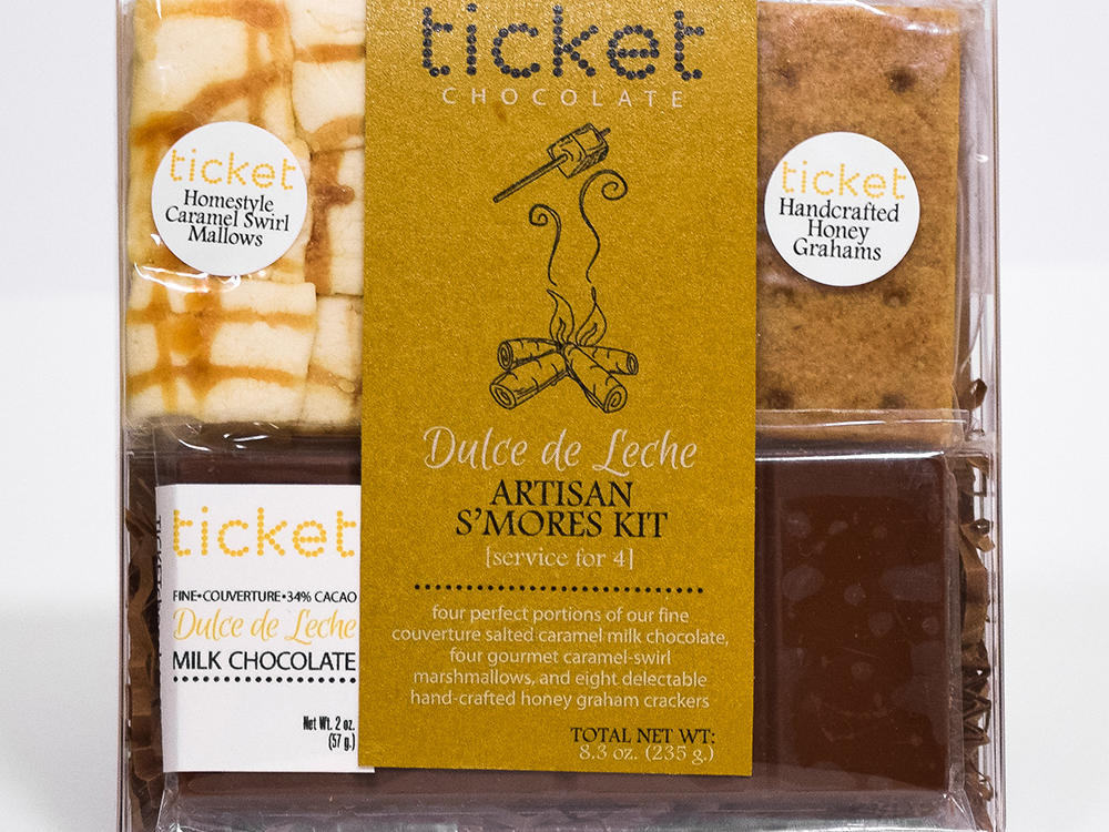 Ticket Chocolate S'mores Kits