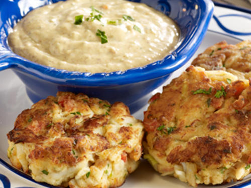 Dill Crab Cakes