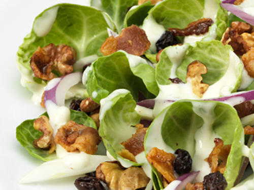 Content From Marzetti: Brussels Sprouts Salad