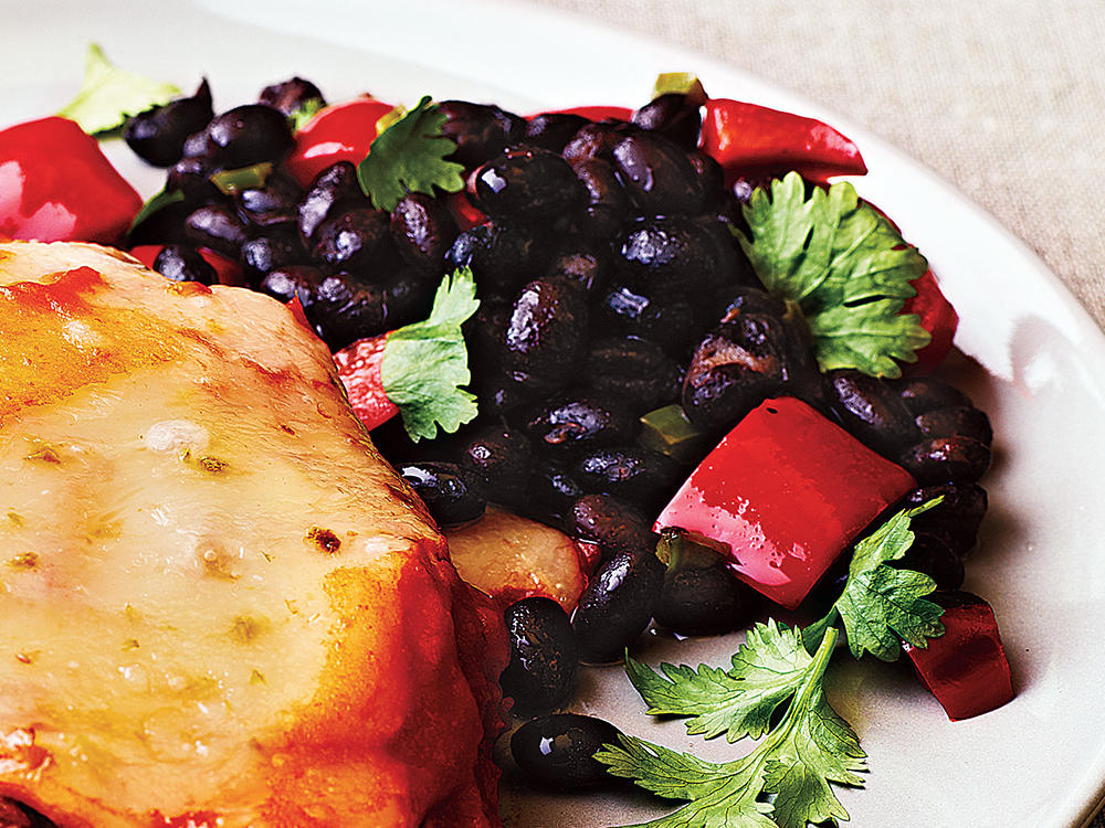 Cilantro-Lime Black Beans