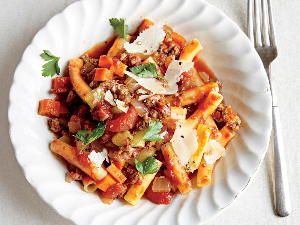 Pork and Beef Bolognese