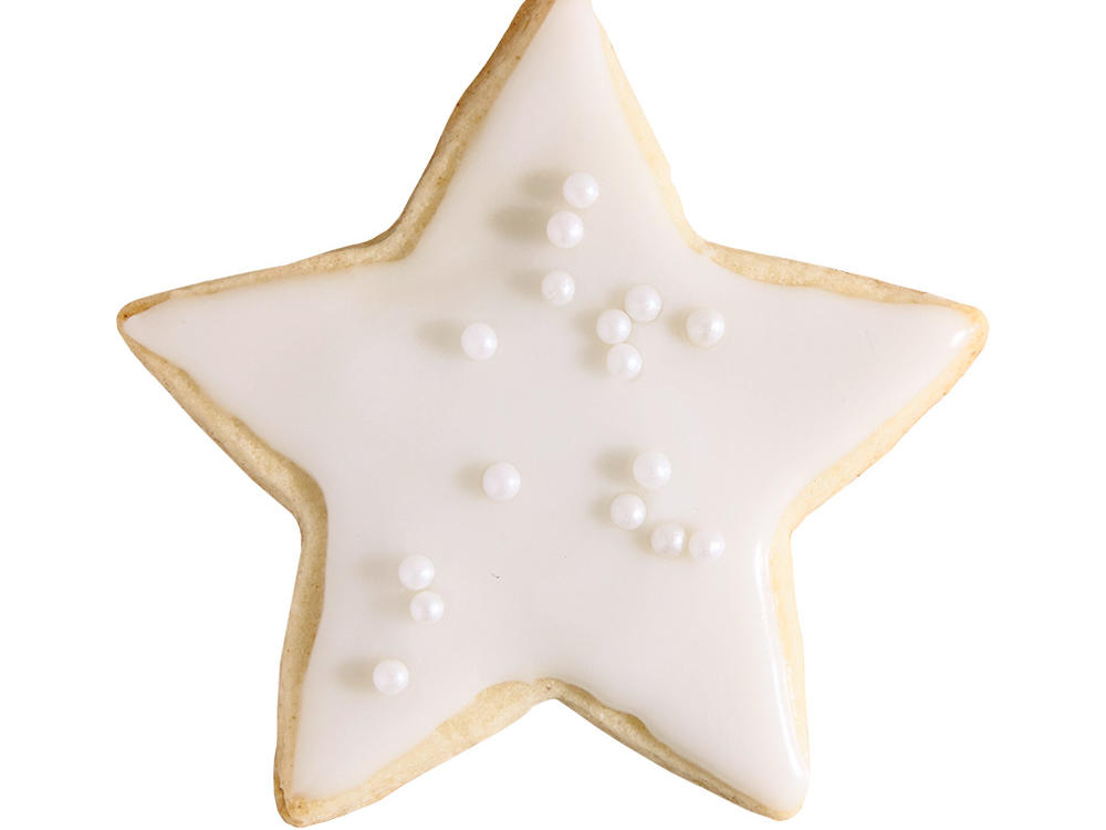 Iced Sugar Cookie Star