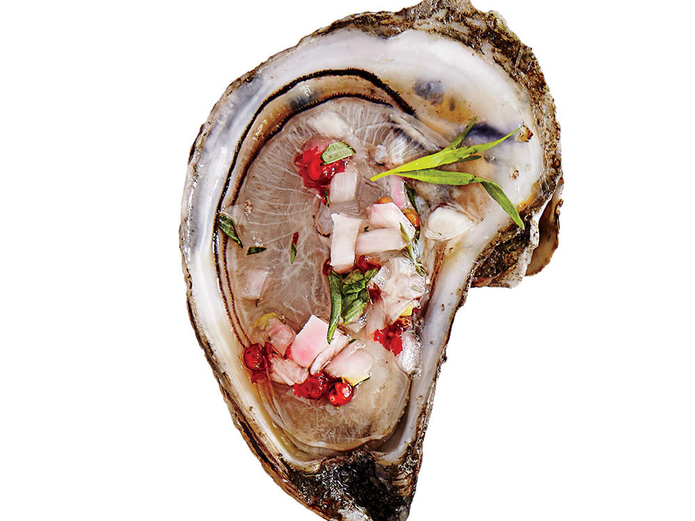 1512 Oysters Mignonette