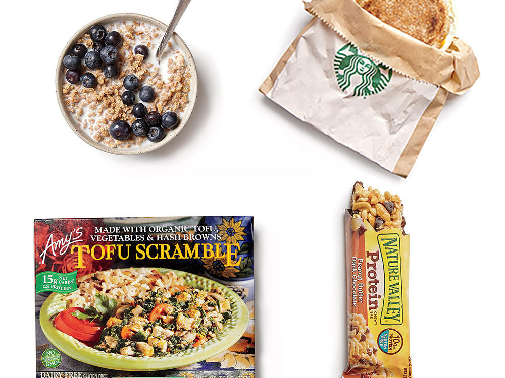 Sure, any morning meal is better than none, but what you eat early in the day can have a major impact on your mood, concentration, and energy level. If you don't think you have the time—or have no clue where to start—check out our top breakfast picks. We've gone up and down the grocery aisles looking for ingredients and products worth a try for your morning meal. Some are stand-bys like eggs and cereal, and others are new products on the market that get our dietitians' thumbs up. They're all guaranteed to banish breakfast boredom and add muscle to your morning.