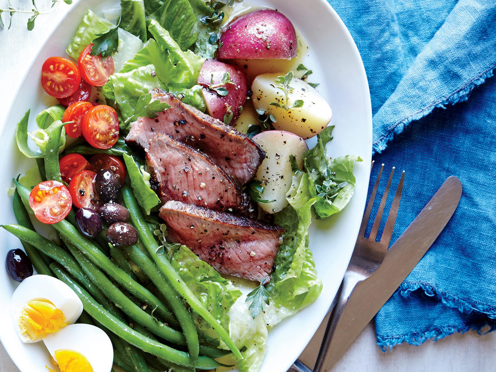 Steak Salad Niçoise