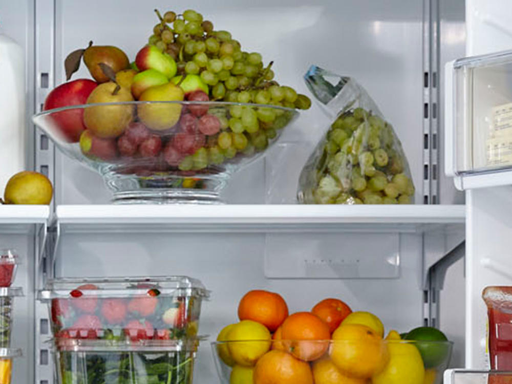 Anatomy of a Healthy Fridge Snacking