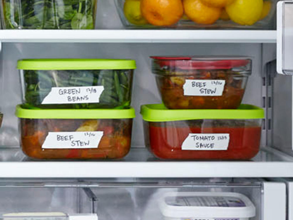 Anatomy of a Healthy Fridge Leftovers