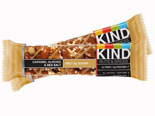 Kind Caramel Almond and Sea Salt Nuts & Seeds Bar