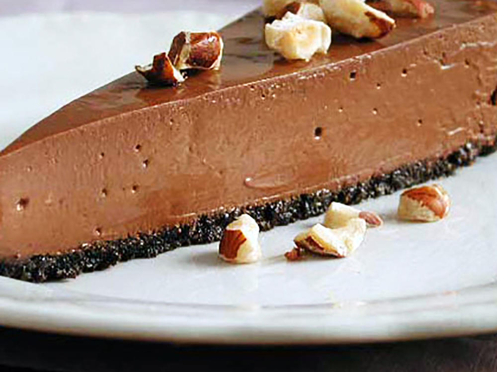 Triple Hazelnut Cheesecake