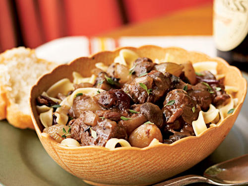 Autumn Cranberry Beef Stew